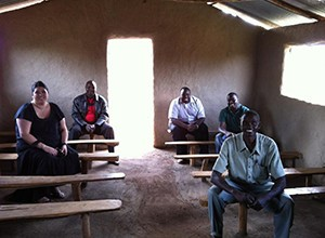 The church of the Laboret sewing project in Kenya